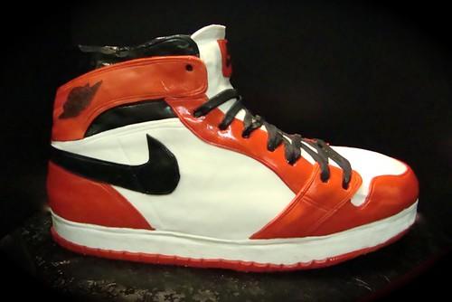 Air Jordan 1 shoe cake