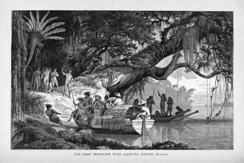 009-Los Ríos Amazonas y Madeira 1875- Primer contacto con los indios Caripuna en el Madeira