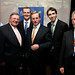 Councillor James O'Sullivan & colleagues with Enda Kenny TD
