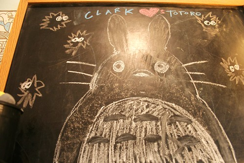 i drew totoro for you clark!