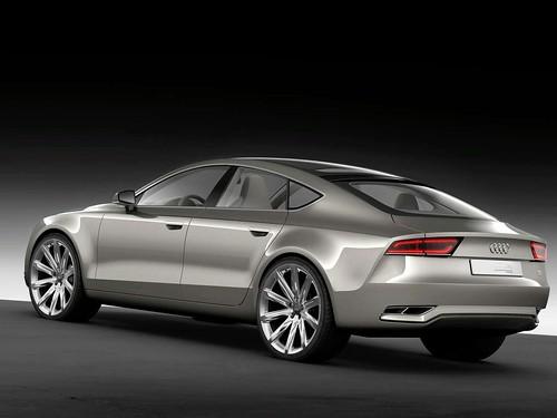 2009 Audi Sportback Concept. Audi A7 Sportback concept