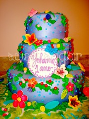 SWEET SUGAR - By Michelle Lanza - Jardim fundo lilas 1 (SWEET SUGAR By Michelle Lanza) Tags: oficial