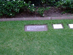 The grave of Robert Brady
