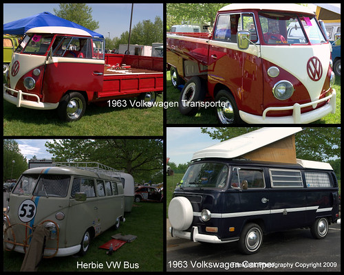 1963 Volkswagens plus Herbie da Bus. The annual MO-KAN Bug Blitz was held on