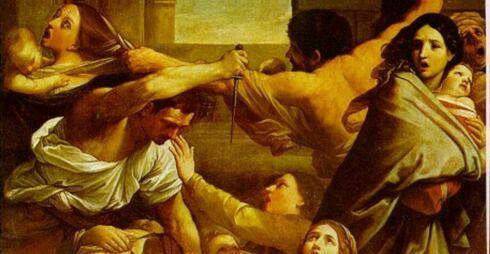 La matanza de los inocentes. Guido Reni (JPEG)