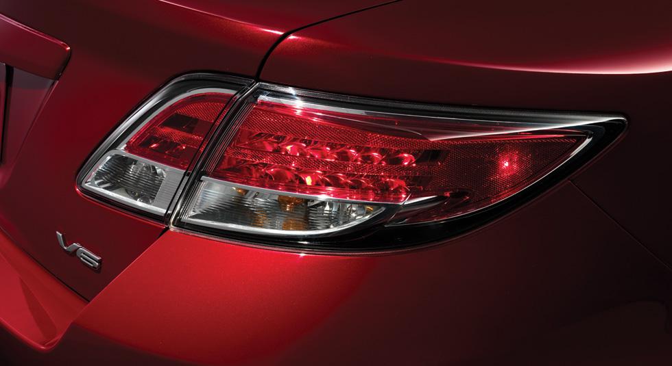 Mazda 6 LED taillights