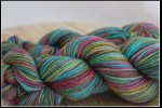 'Caterpillar Crossing' on Inspire BFL aran *Kettle-dyed*