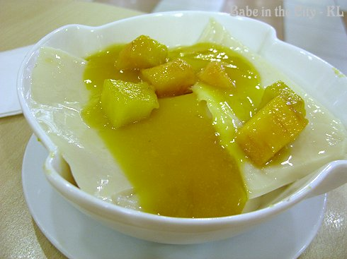 Soy Bean Jelly with Mango (RM6.50)