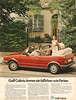VW Golf Cabrio (1980) (jens.lilienthal) Tags: auto red rabbit rot classic cars car vw vintage golf volkswagen print advertising media reclame ad convertible voiture advertisement autos werbung cabrio reklame voitures cabriolet anzeige youngtimer typ17