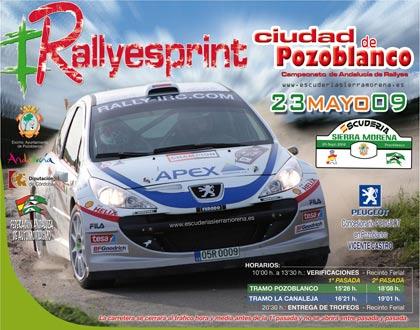 I Rallyesprint Ciudad de Pozoblanco (Resultados)