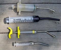 Q Drench Goat Dose Oral dosing syringes