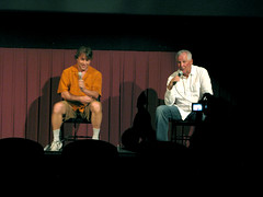 Richard Linklater and Augie Garrido