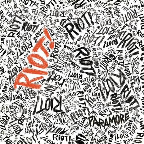 paramore album cover riot. Paramore: Riot!