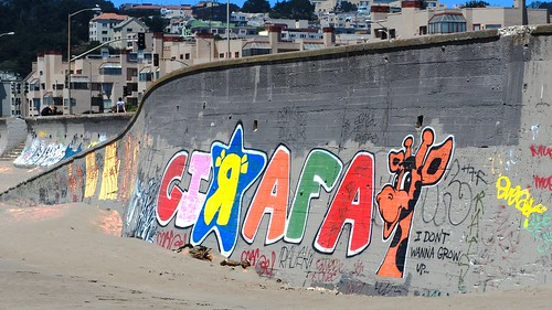 Graffiti - Ocean Beach,  SF