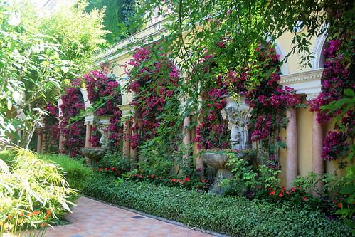 Spanish Garden By Justluc