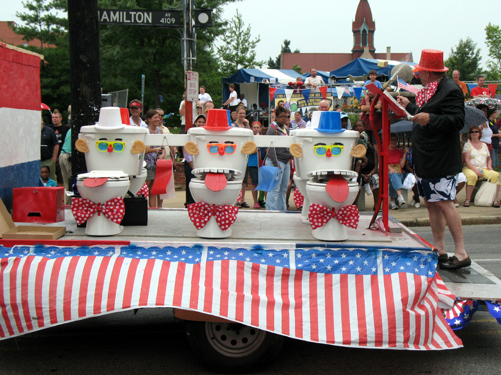 Northside Parade 4th July 2009