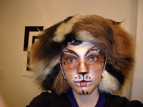 cats makeup. to do a Cats makeup using
