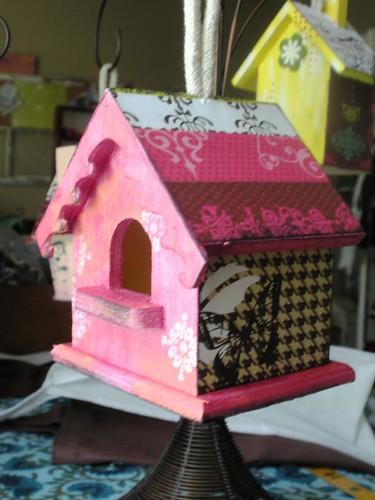 alternative birdhouses