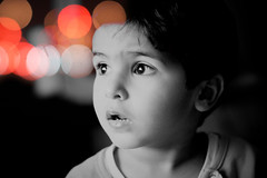 (`Anonymous) Tags: bw by 50mm bokeh sony nephew alpha anonymous staring fahad oldone abdallah qtr 3bed a350 3bdallah almarri el3bd 3bodp