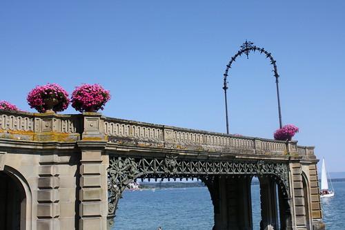 Schloßbrücke in Friedrichshafen