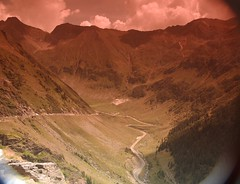 looking-glass -Transfagarasan (midori_ro) Tags: road mountains transfagarasan
