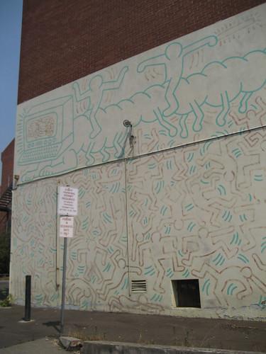 Keith Haring Wall