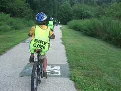 Camden Greenway NJBIKESCHOOL - Photo NJDOT