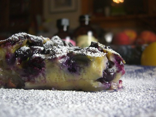 Julia-inspired Blueberry Clafouti