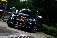 Audi Q7 V12 TDI (Fabio Oro) Tags: black holland canon tdi lights fabio 1855mm audi oro v12 q7 400d pollfilter