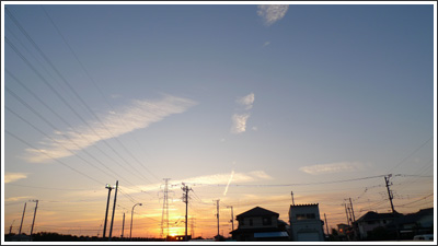 2009年8月16日の雲