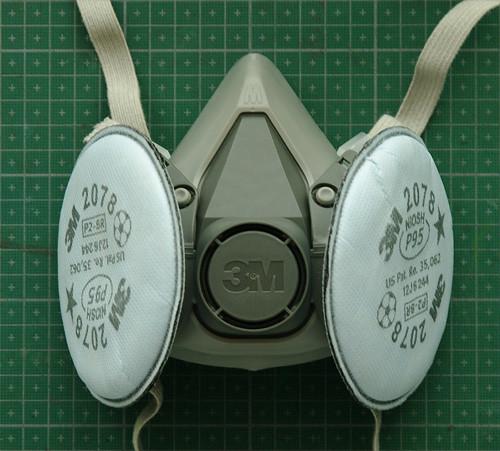 3M 6200 reusable respirator mask