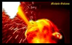 Fireee!!! (Dazimos) Tags: fire ancient colore astratto rosso calore antico medievale dei fuoco arancione mangiafuoco medioevo torneo caldo fiamme storia volto oria rioni medievalage rievocazione colorphotoaward