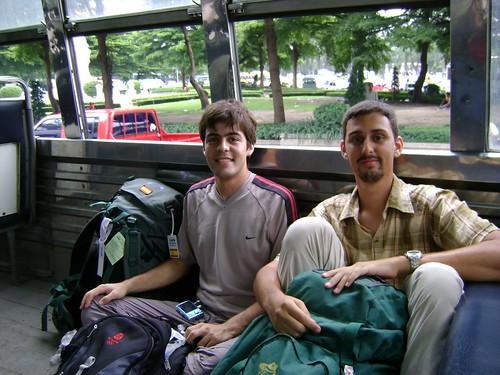 Bus urbano en Bangkok