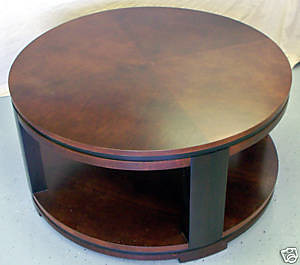 Round Contemporary Coffee Table