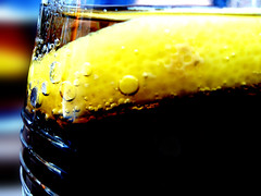 Pepsi Lemon (Sam Townshend) Tags: glass lemon cool cola bubbles slice pepsi refreshing