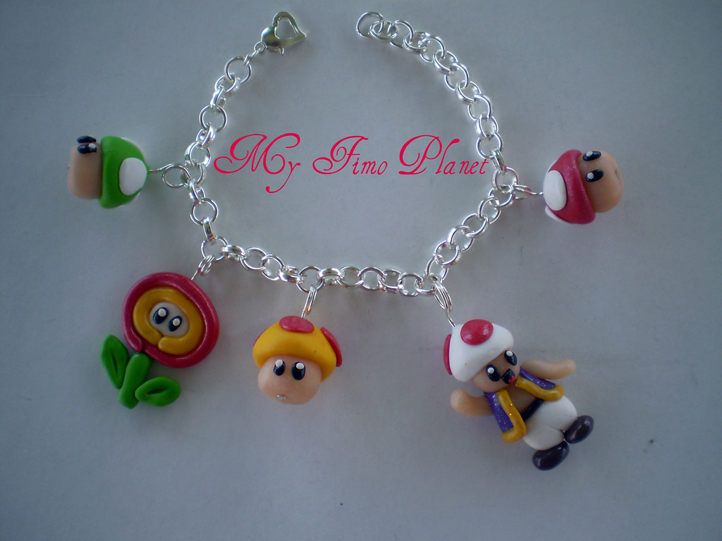 bracciale personaggi Mario Bros
