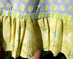 hem detail Sew Serendipity Claire Dress
