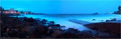Waiting for the sun, Capo Mulini (Mark Phillip) Tags: longexposure sea seascape nikon mare waves d70 tripod sicily nikkor capo catania sicilia onde 1870 cavalletto mulini lungaposa trepiedi