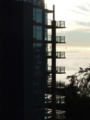 Darkness & Light (~ Blu ~) Tags: fog blu balcony cypress guessed westvancouver guesswherevancouver pointcharmaine84