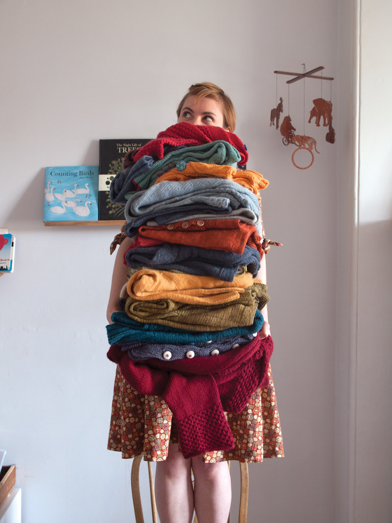 pile-of-sweaters