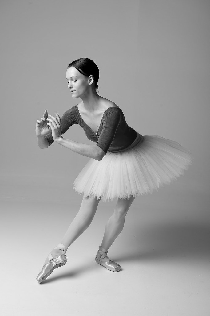 Ballet Dancer (B&W) 1