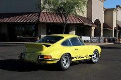 Porsche 911 Carrera RS (Monkey Wrench Media) Tags: arizona classic sport yellow 1974 side rear 911 wing az german porsche series scottsdale 27 rs 74 coupe fuchs liter carrera litre spoiler ducktail renn 27litre rennsport carsandcoffee ducktailspoiler 27liter 30rs ducktailwing