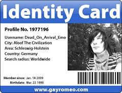 My ID for Gayromeo.com