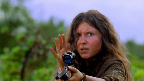 Melissa Farman enojada furiosa