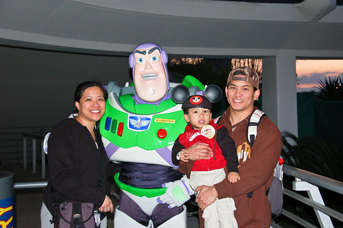 With Buzz Lightyear