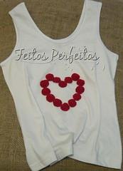 Camisetas (Sio2010) Tags: fuxico corao camisetascustomizadas fuxicodecorao