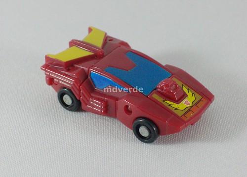 Transformers Hot Rodimus Micromaster G1 - modo alterno