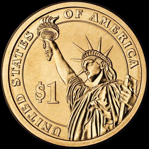 1 dolár USA, prezidentský dolár