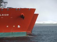 2007_0122hogmanyandtanker0019 (breeksy2002) Tags: sea water orkney ship lpg scapaflow shiptoship