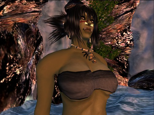 Proud Orcish Woman